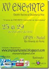 cartaz DIVULG II XV ENEARTE