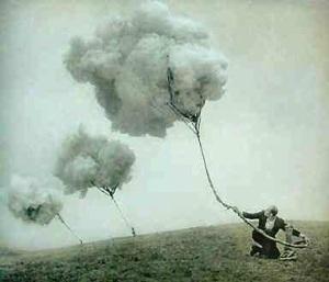 Surrealismo Semeando nuvens